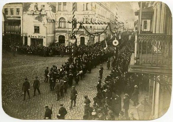 Chełmno, 22 stycznia 1920 rok, zbiory Muzeum Ziemi Chełmińskiej w Chełmnie