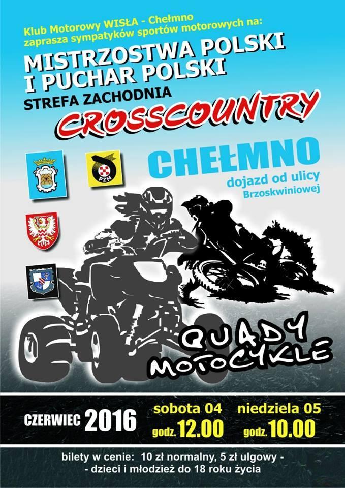 plakat motocross
