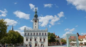 Gotycko-renesansowy ratusz i rynek w Chełmnie, fot. Elżbieta Pawelec