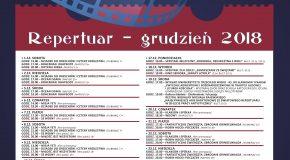 Wydarzenia i repertuar Kinoteatru RONDO, grudzień 2018