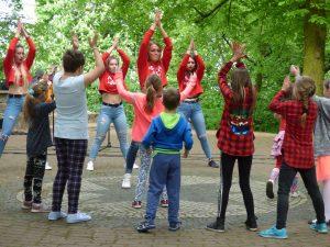 Zabawy w Dniu Flagi - © fot. Czas Chełmna